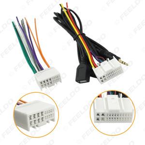 سيارة CD صوت ستيريو أسلاك محول تسخير مع USB / AUX (3.5MM) التوصيل للحصول على كيا K2 / K5 / سبورتاج R مصنع OEM راديو CD / DVD ستيريو # 4117