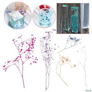 Résultats de bijoux bon marché Composants 1 Boîte de remplissage de fleurs à la main à sec Fleurs bricolage résine époxy de remplissage Artisanat Outils silicone Moules en cristal UV