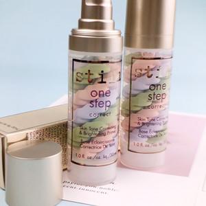 New Hot Makeup Base de Stila One Step correta Tom de pele Correção Brightening Primer 30ml Foundation Primer DHL