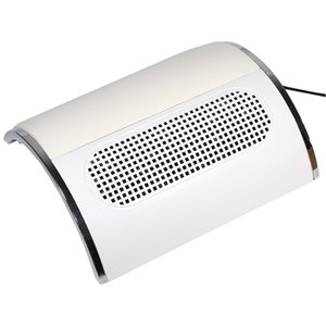 110V 220V Nail Suction Dust Collector Large Size Strong Nail Vacuum Cleaner Machine Low Noisy with 2 bags Salon Tool