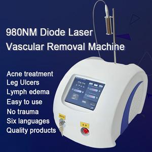 Schönheitssalon / Vaskuläre / Veins / Besenreiser-Abbau-Ausrüstung 980nm Laser Vein Removal Beste 980nm Dioden-Laser-Vascular-Abbau-Maschine