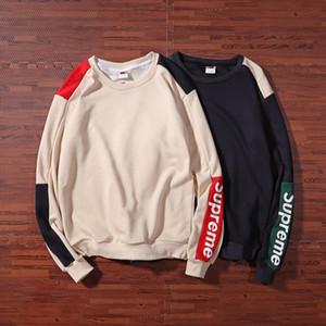 2019 мужские трикотажные пуловеры дизайнер свитер мужской о-образным вырезом повседневная вязка джемперы свитера мужские длинные пуловеры известный бренд свитер женщин