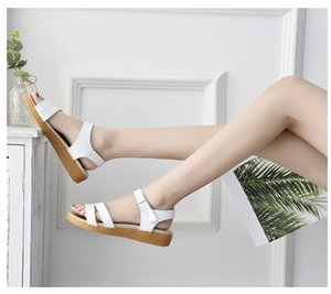 0722hzd206 новые Популярные на открытом воздухе прогулочные плоские тапочки мужские сандалии женские летние прохладные пляжные сандалии с коробкой