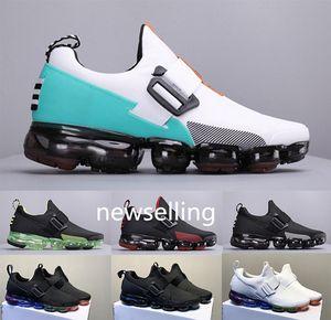 O tamanho grande US7-12 Run Utility Bandage vapor Pad Além disso Mens Running Shoes Wathet Black White 2019 Outdoor Sneakers