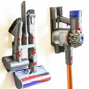 Lavagem a cabeça da escova de armazenamento Suporte Acessórios Para V7 V8 V10 Vacuum Cleaner Parts Levante Acessórios de Ferramenta de rack Titular parede