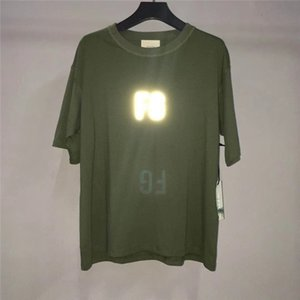 FG 3M Yansıtıcı SİS Essentials T shirt Erkekler Kadınlar Büyük Boy Üst Tee Özelleştirilmiş renkler Essentials Tişörtler Streetwear