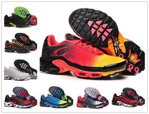 도매 패션 TN PLUS 남성의 원래 패션 운동화 TN AIR SHOS 판매 고품질의 저렴한 프랑스어 바구니 TN REQUIN CHAUSSURES 크기 40-46