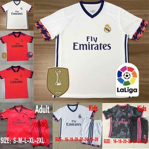 Real madrid Formalar 2020 2021 TEHLİKESİ Isco futbol forması Sergio Ramos Modric BALYA futbol forması üniforma 20 21 camisetas EA spor kiti