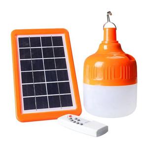 Umlight1688 Taşınabilir şarj edilebilir enerji tasarrufu uzaktan kumanda akıllı LED güneş ampul 20W 40W 60W USB güç çıkışı