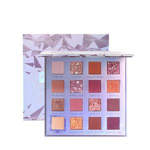 Блеск порошок тени для век 16 цветов Сияющий палитра теней Ранний рассвет Бессмертный Цвет Shimmer Matte Eyeshadow So Beautiful хорошее качество