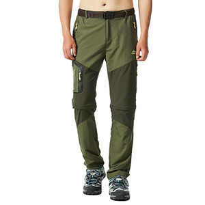 2019 New Men Hiking Pants Outdoor Fishing Trousers Sretch Waterproof Windproof Camping Jogger Quick Dry Climing Trekking Legging