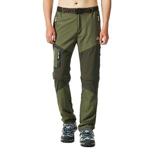 Los hombres pantalones pantalones de senderismo pesca al aire libre a prueba de viento impermeable Sretch camping basculador de secado rápido Climing Trekking Legging