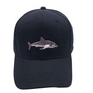 Shark Volleyball Wear Athletic & Outdoor Apparel Embroidered Baseball Cap Breathable Cotton Sports Cap Fashion Casual Outdoor Sun Hat