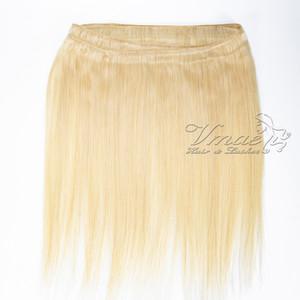 VMAE russische Menschenhaar-einschlag Extensions Straight # 613 Blonde 3 PC-Los 100% Rohboden Jungfrau Remy Haar-natürliche weiche Webart Bundles