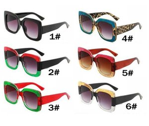 Sommer Frau Mode Outdoor Wind Sonnenbrille Mann Autofahren Sonnenbrille Dame Große Rahmen Strand UV400 Schutz Schillernde Sonnenbrille Kostenloses Schiff