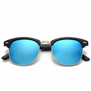 Lentes polarizadas de las mujeres de las señoras de los hombres de la marca de moda gafas de sol cuadradas protección UV400 2019 de lujo gafas de sol bollos envío gratis