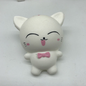 Squishy Decompression Vent Toy Doll Slow Rebound Cute Smiley Cat Creative Gifts Decompression Toys Squeezing Squeeze Antistress