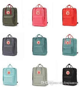 Top-Qualität Fjallraven Kanken Klassische Rucksack Kinder Damenmode Design Tasche Junior School Leinwand Swedish Arctic Fox Rucksäcke 7L 16L 20L