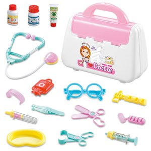 15Pcs Set Pretend Play Toy Doctor Nurse Medical Kit Model Set Role Play Simulation Learing Educational Toys For Children Kids