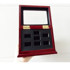 Mode neue 7-Loch-Stereo-Display-Box rot Holz 7-Loch-Stereo-Display-Box Hersteller schnelles Verschiffen