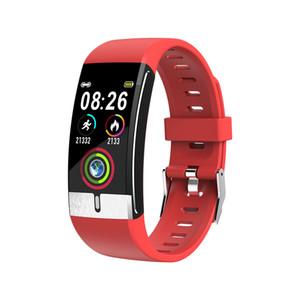E66 Fitness Tracker Temperatura corporea ECG intelligente Bracciale monitor di frequenza cardiaca immunità intelligente Guarda Musica di sport di controllo