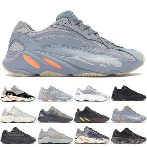 Men Women Kanye West 700 Wave Runner Mauve Solid Grey Men Running Shoes With Box designer SneakersssYEzZYYEzZYs v2 350boost