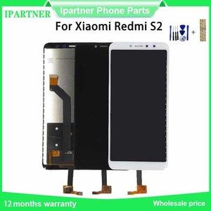 """Para Xiaomi redmi S2 Pantalla LCD de pantalla táctil de la Asamblea reemplazo digitalizador 5.99"""" para la pantalla redmi S2 con 3M Etiqueta"""
