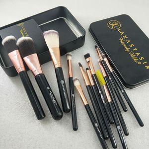 HOT New brand makeup tools makeup brushes 12pcs set makeup brush set brush powder eye shadow brush Free postage fast delivery