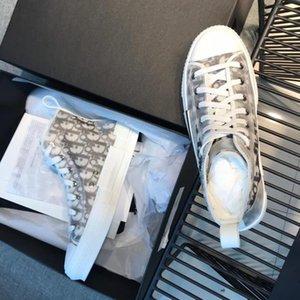 Fleurs récent technique Toile « B23 » Sneaker Haut-Top Casual Oblique Baskets qualité Femmes Hommes Chaussures de luxe de