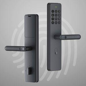 التعامل مع Youpin Xiaoda الالكترونية القفل الذكي بصمة Intellgent الباب مع قفل بدون مفتاح الذكية الرقمية أقفال الأبواب المتاحة للMijia APP
