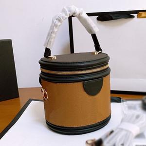 2020 bolsos de diseño ventas calientes de moda bolsa de hombro de lujo completamente nuevo cubo de la lona del monograma bolsa cruzada cuerpo envío libre