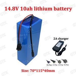 75W LED lamba Xenon + şarj 14.8v 10Ah Lityum bateria recargable 12V 10Ah 18650 Lityum iyon pil koruma kurulu