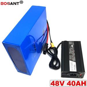 Е Мото-батерия Li-Иона пункт 48 в 40ah батареи BBSHD Бафане 1800 Вт мотор делать пилинг получении электрическим током через тело батерия де Lítio 13 с 18650 48 в Frete безвозмездно