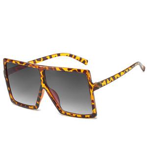 Oversized Sunglasses Square Women Sun Glasses Female Eyewear Eyeglasses Plastic Frame Clear Lens UV400 Shade Fashion Driving New