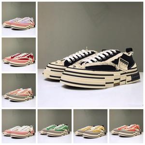 XVessel G.O.P. Bas Chaussures de toile Hommes Femmes TOP Qualité Designer De Mode Vessel Vessel S Pièce par Pièce Vitesse Casual Shoes