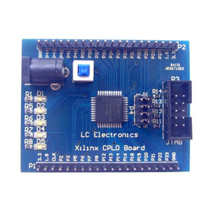 placa de desenvolvimento Xilinx CoolRunner-II XC2C32A CPLD / Tábua de aprendizagem / Tábua de experiência