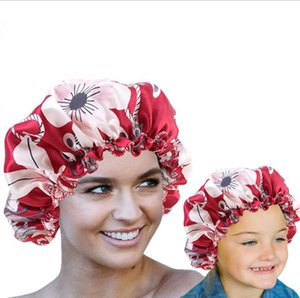 Satin Bonnet for Women Silky Soft Day Night Sleep Cap For Parents Kids Hat Wrap Ladies Salon Wear Hat Women Head Wrap Hair Accessories