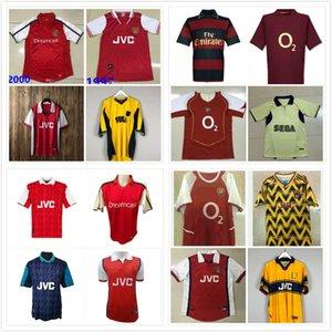05 06 nueva Fútbol Retro camisas PIRES HENRY V. Persie Fabregas Rosicky REYES VIEIRA Bergkamp camiseta de fútbol