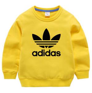 Designerkleidung Neu 2019 Herbst Neu Kinder Kleidungsstück Kinder Cartoon Stickerei Hoodies Sweatshirts Freies Verschiffen