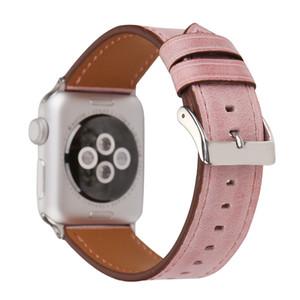 Хорошо Красочные моды кожа часы ремешок для Apple Наблюдать за 1 2 3 4 5 Спорт ремень для компании Apple Iwatch 38мм 40мм 42мм 44mm диапазона Аксессуары