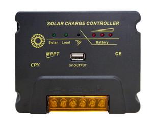 24 Stunden Ausgang 12V24V 20A MPPT Solarenergieerzeugungssystem Regler automatisch Batteriespannung USB5V1A identifizieren