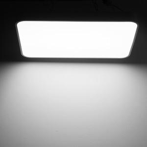 48W Ultra-fino teto LED Praça Luz Moderna teto lâmpada de iluminação interior fixação para Casa de Banho Cozinha Sala de Estar Início