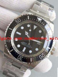 Best selling nb Aço Inoxidável Preto 116660 44mm Cerâmica Bezel Eta3135 Movimento Sapphire Data Automática Dos Homens de Mergulho