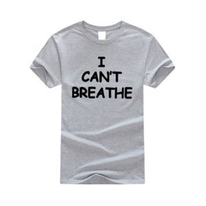 Mens Fashion T-shirts I CANT BREATHE Casual Tees Tops Men Women 2020 Summer Hot Sale Tshirts Casual T Shirts 14 Styles High End Unisex