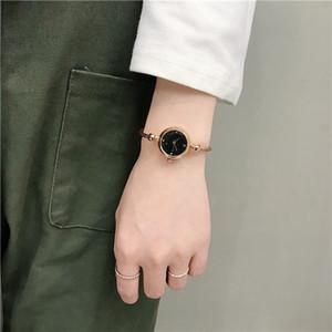 높은 품질 도매 여성 디자이너 학생 여성 패션 장식 시계 무료 배송 보석 조정 가능한 팔찌 시계