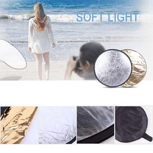 VBESTLIFE 2 in1 Portable Collapsible Reflector Photography Reflector Light Diffuser 80cm Studio Shooting Universal Free Shipping