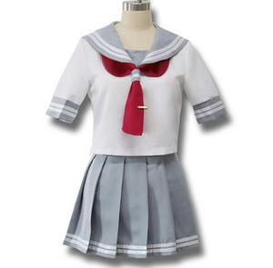 일본 애니메이션 사랑 선샤인 코스프레 의상 Takami Chika 소녀 선원 유니폼 Love Live Aqours 학교 교복