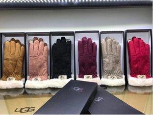 explosión popular de los hombres de invierno A7 europeos WOME guantes estéreo de corte cómodo caliente de la bici escalada deportes al aire libre guante especial