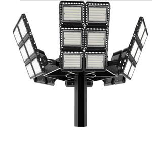 Stadium dock 1000w 800w 600w holofotes levou luz de inundação ao ar livre lâmpada de estádio de esportes 5 anos garantia chip cree meandwell motorista impermeável