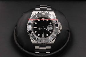 Artículos calientes Reloj de alta calidad 43 mm Dweller de mar 126600 Cerámica de mar rojo 50 aniversario 316L Steel Asia 2813 Movimiento Automático Mens Relojes